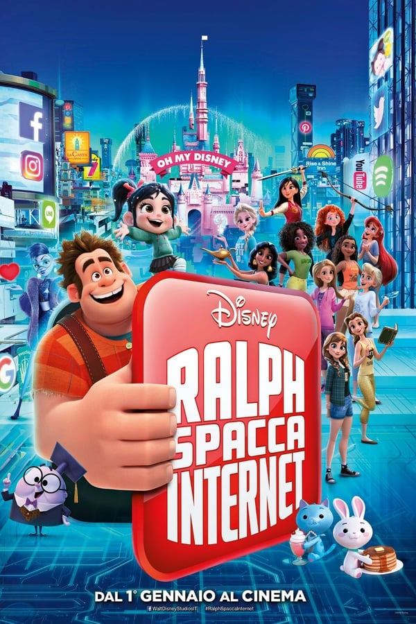 Guarda Ralph spacca internet,  Ralph Spaccatutto 2 Streaming HD 2018 HD Streaming