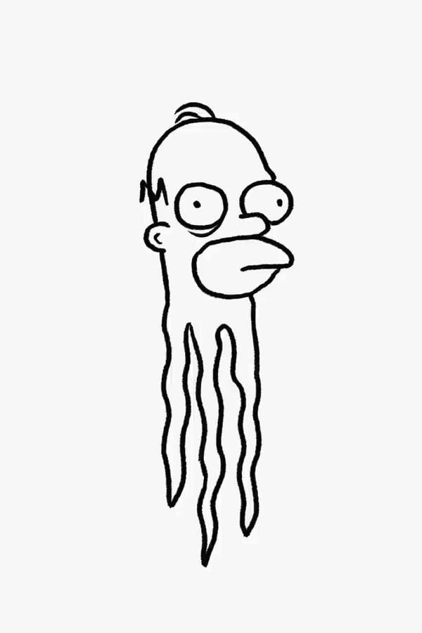The Simpsons: Don Hertzfeldt Couch Gag