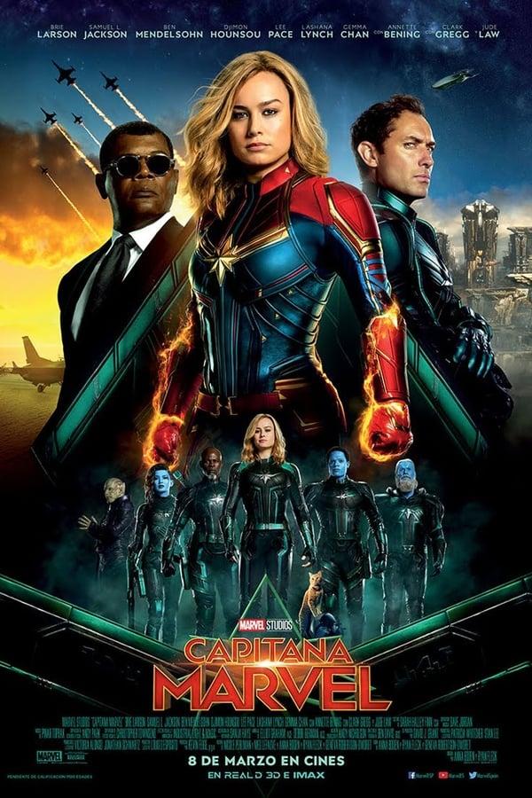 Ver Capitana Marvel Captain Marvel 2019 Pelicula Completa Español Latino Inglés Hd Elcine