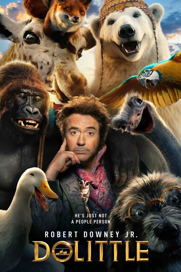 Dolittle (2020) Dual Audio [Hindi BD5.1 + English DD5.1] | x264 Blu-Ray | 1080p | 720p| 480p | Download | Watch Online | GDrive | Direct Links