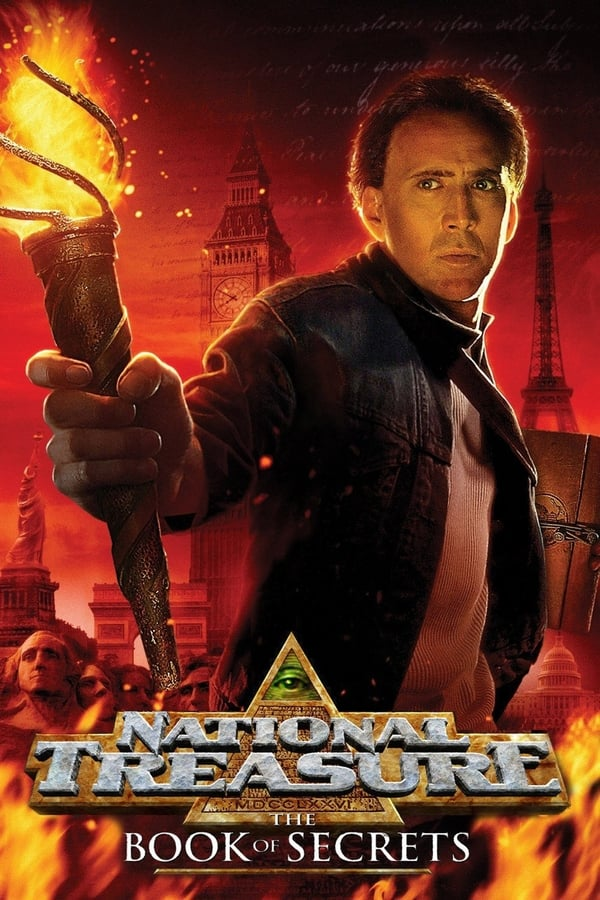 National Treasure: Book of Secrets (2007) Dual Audio [Hindi + English] | x264 Bluray | 720p | 480p | Download | Watch Online | GDrive | Direct Links