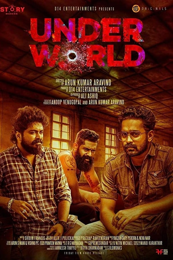 Under World (2019) Malayalam Full Movie 1080p WEB-DL | 720p | 480p | 2 GB, 1 GB, 640 MB | Download | Watch Online | Direct Links | GDrive