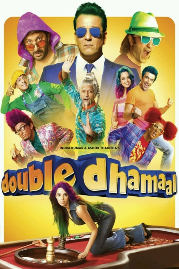 Double Dhamaal (2011) Hindi Esub | x264 Blu-Ray | 1080p | 720p | 480p | Download | Watch Online | GDrive | Direct Links