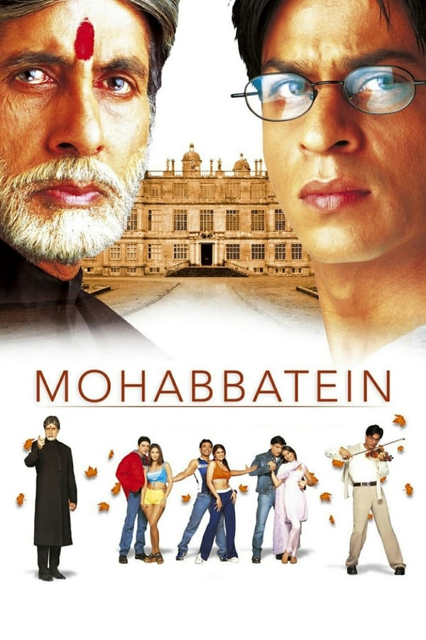 Mohabbatein (2000) Hindi | x265 HEVC BluRay | 1080p | 720p | 480p | Download | Watch Online | GDrive | Direct Links