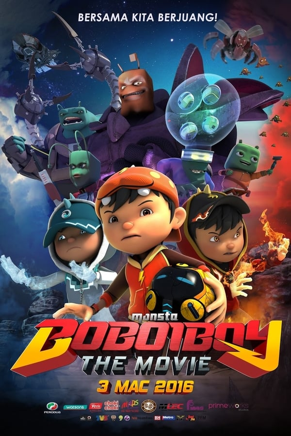 BoBoiBoy: The Movie (2016) Dual Audio  [ Hindi + English] 720p HD-RIP | 700MB | Download | Watch Online | Direct Links | GDrive