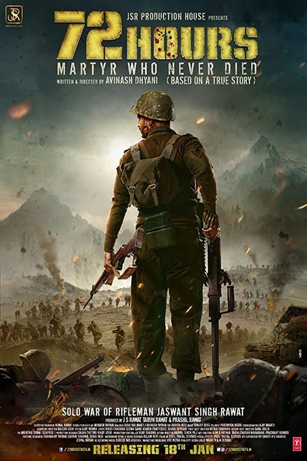 72 Hours: Martyr Who Never Died (2019) Hindi 1080p | 720p | HDTV | 2 GB, 1 GB | Download | Watch Online | Direct Links | GDrive