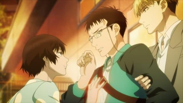 Sankaku Mado no Sotogawa wa Yoru – Episódio 3