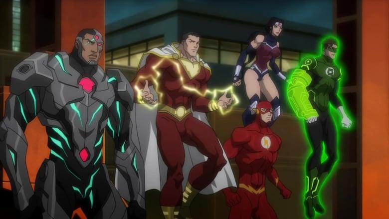 ליגת הצדק: מלחמה / Justice League: War לצפייה ישירה
