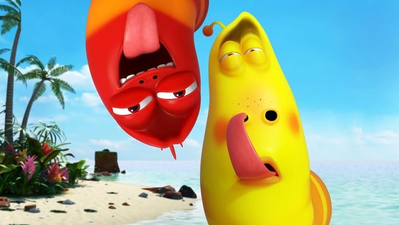 אי הזחלים: הסרט / The Larva Island Movie לצפייה ישירה