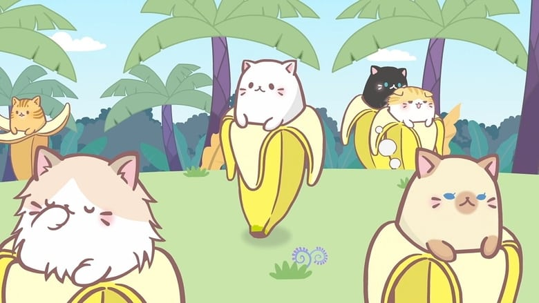 Poster anime Bananya: Fushigi na Nakama-tachi