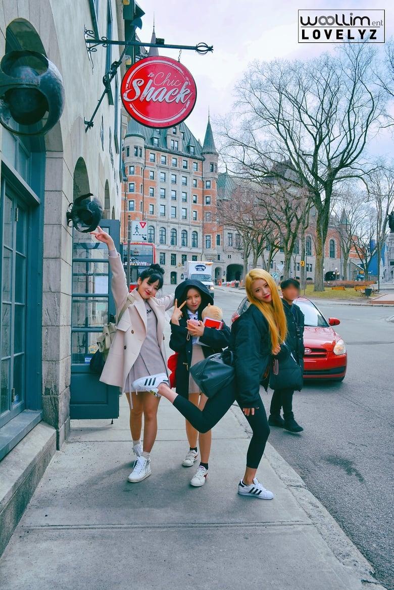 Lovelyz visits Canada (2017)