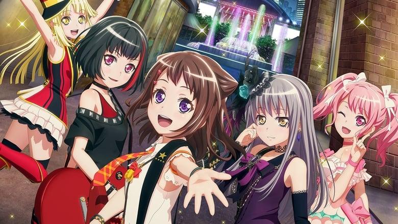 Poster anime BanG Dream! Film Live