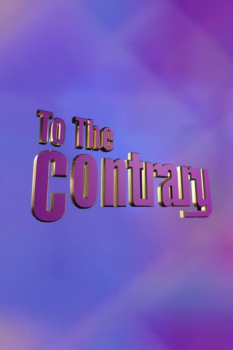 To The Contrary (1992)