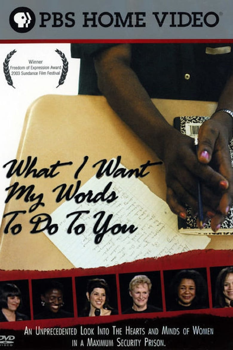 What I Want My Words to Do to You: Voices from Inside a Women's Maximum Security Prison