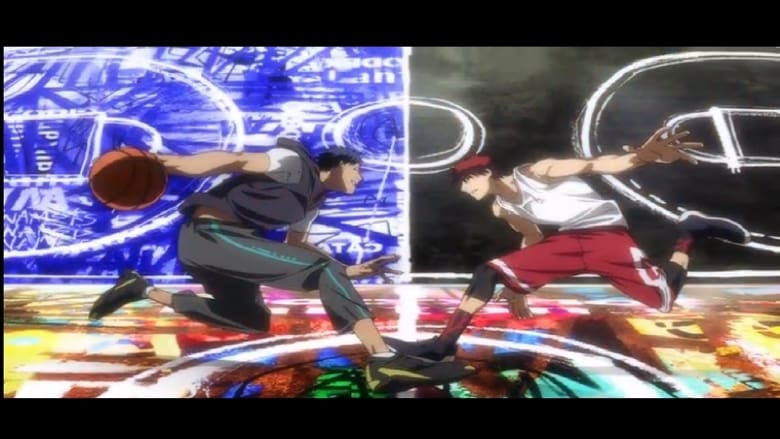 Poster anime Kuroko no Basket Movie 1: Winter Cup Soushuuhen - Kage to Hikari<