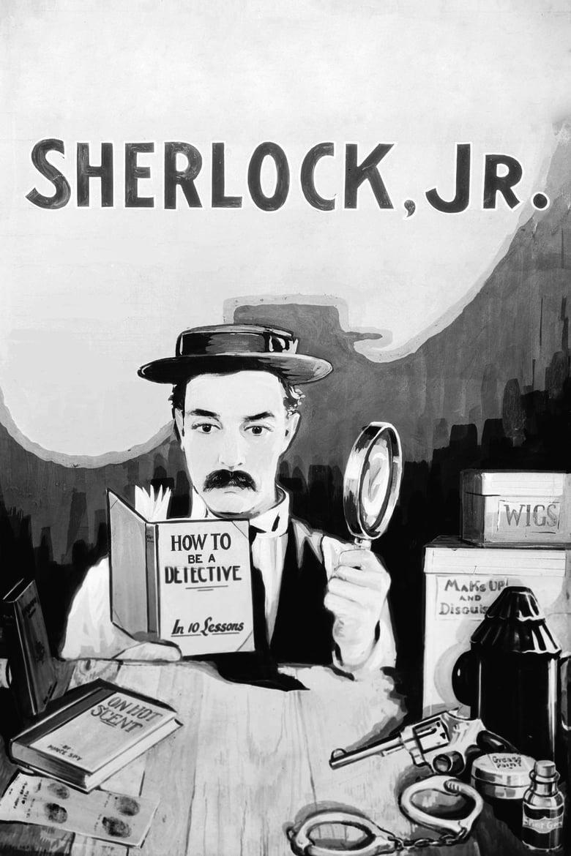 Sherlock, Jr. - poster