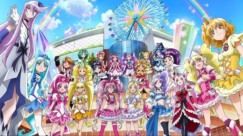 مشاهدة فيلم Precure All Stars Movie DX3: Deliver the Future! The Rainbow-Colored Flower That Connects the World 2011 مترجم أون لاين بجودة عالية