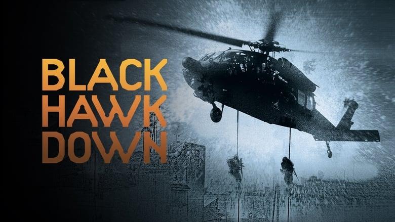 Black Hawk Down banner backdrop