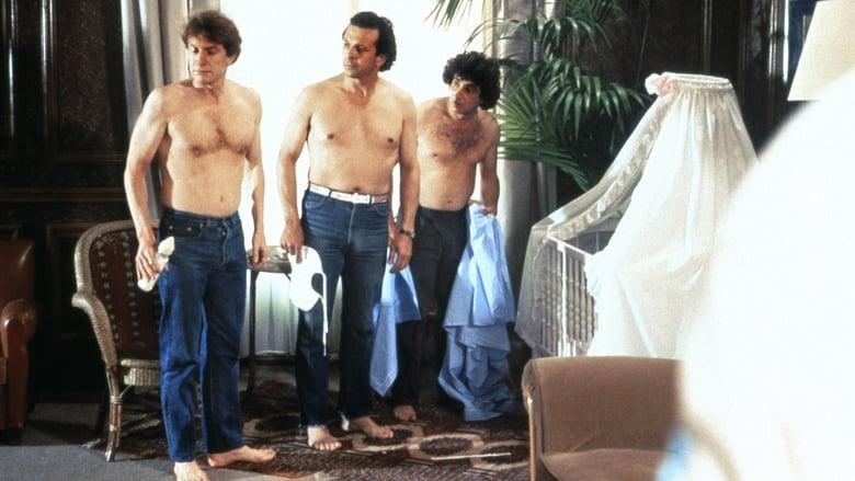 3 HOMMES ET UN COUFFIN