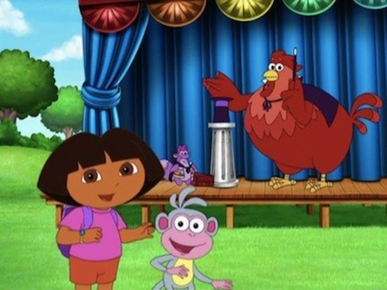 Dora the Explorer Season 5 Episode 10 | The Big Red Chicken's Magic