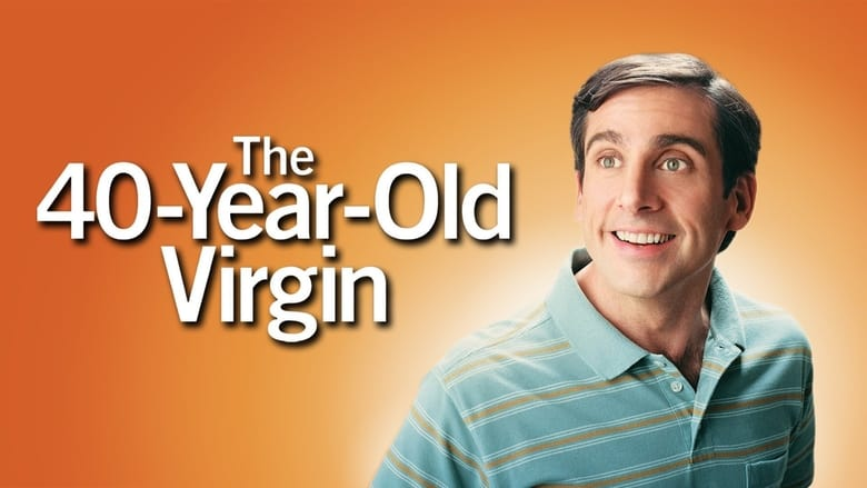The 40 Year Old Virgin banner backdrop