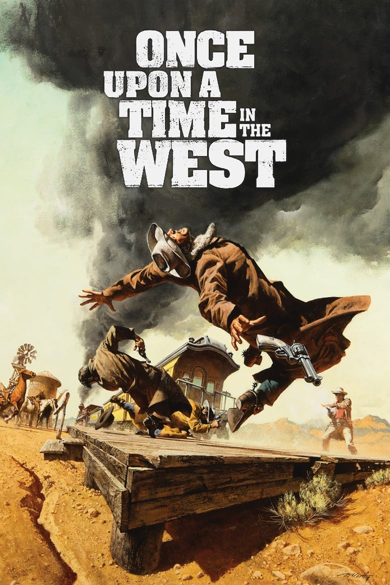 Once Upon a Time in the West - poster
