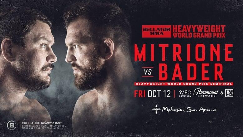 Watch Bellator 207: Mitrione vs. Bader free