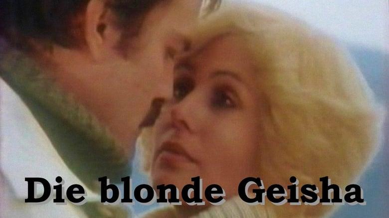 Blonde geisha girl