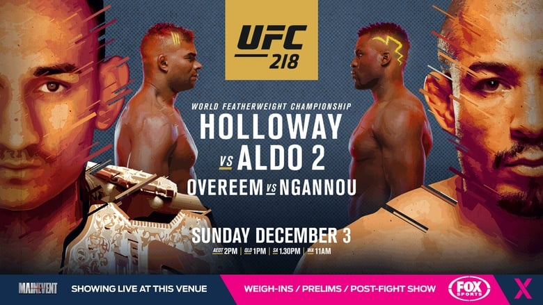Watch UFC 218: Holloway vs. Aldo 2 1337 X movies