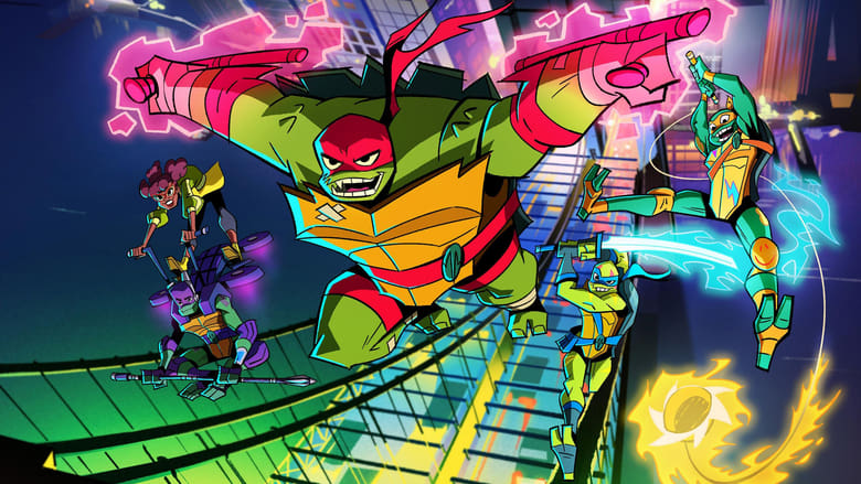 DPStream Rise of the Teenage Mutant Ninja Turtles - Série TV - Streaming - Télécharger poster .2