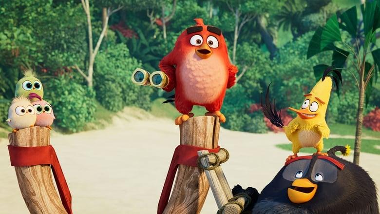 кадр из фильма Angry Birds 2 в кино