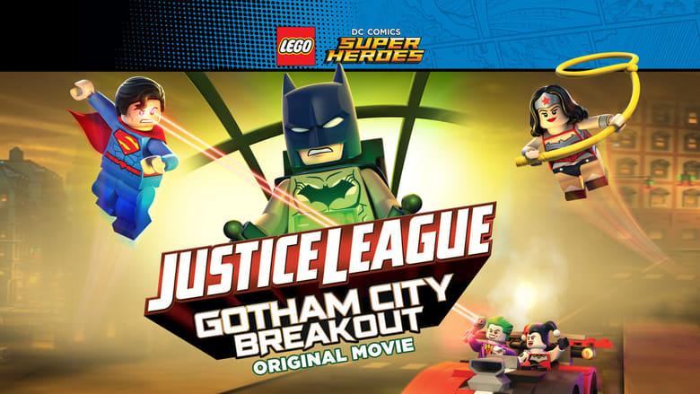 Lego Liga de la justicia Fuga en Gotham