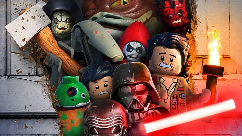 кадр из фильма ЛЕГО Звёздные войны: Ужасающие сказки