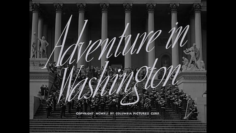 Adventure in Washington Pelicula Completa