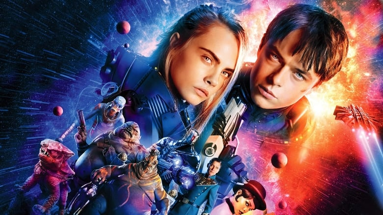 Valerian and the City of a Thousand Planets banner backdrop