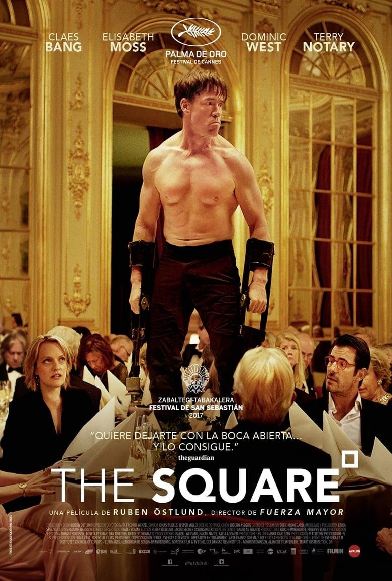 The Square (2017) Comedia Negra