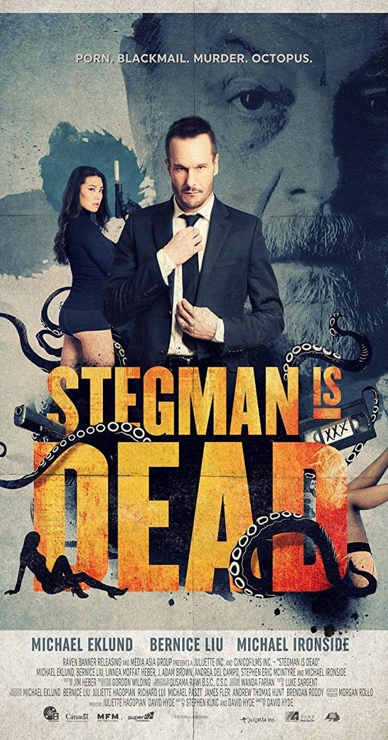 Εξώφυλλο του Stegman is Dead