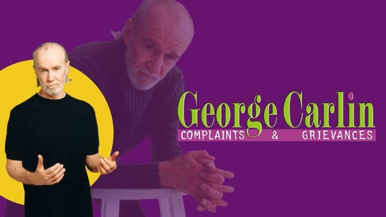 مشاهدة فيلم George Carlin: Complaints & Grievances 2001 مترجم أون لاين بجودة عالية