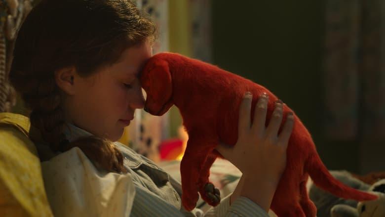 кадр из фильма Большой красный пес Клиффорд