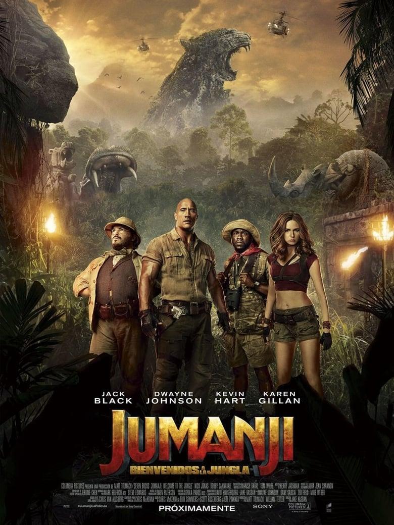 Jumanji: Bienvenidos a la jungla (2017) OnLine D.D.