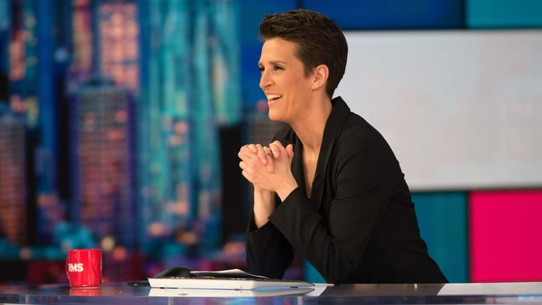 The Rachel Maddow Show banner backdrop