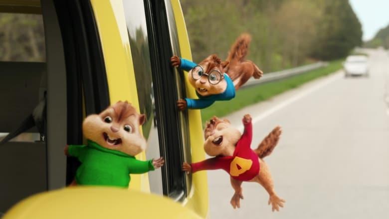 Imagenes de Alvin y las ardillas: Fiesta sobre ruedas
