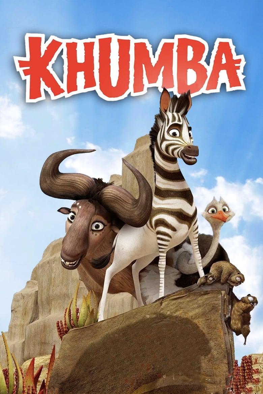 Khumba - Das Zebra ohne Streifen am Popo - Animation / 2014 / ab 6 Jahre