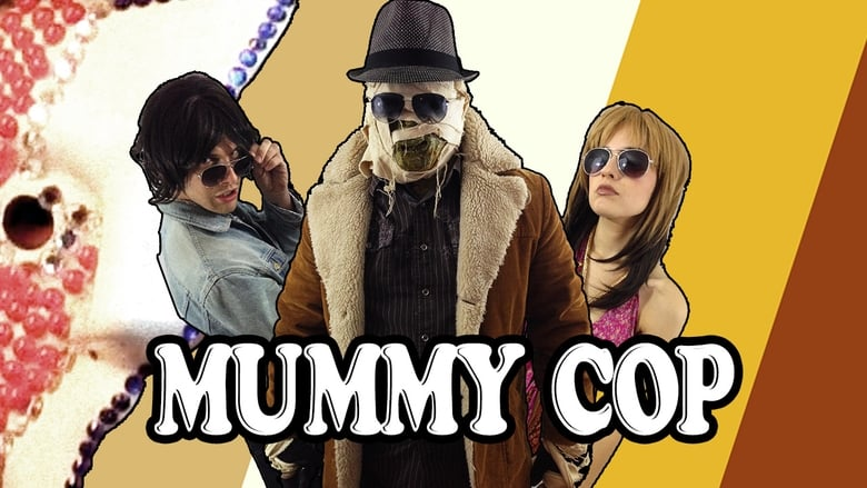 Mummy Cop That '70s Special banner backdrop