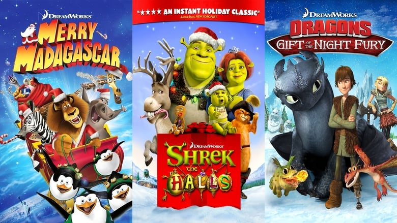 Dreamworks+Holiday+Classics+%28Merry+Madagascar+%2F+Shrek+the+Halls+%2F+Gift+of+the+Night+Fury%29