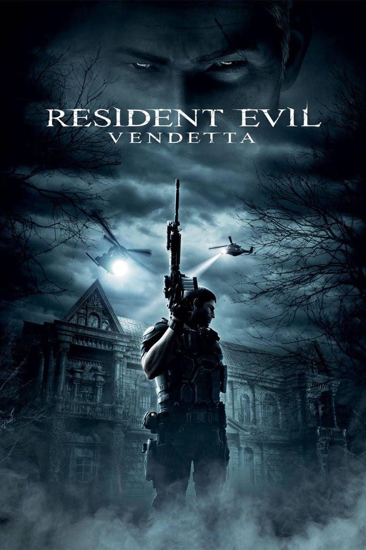 Resident Evil: Vendetta - poster