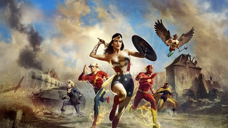 Justice Society: World War II (2021) English HD Movie