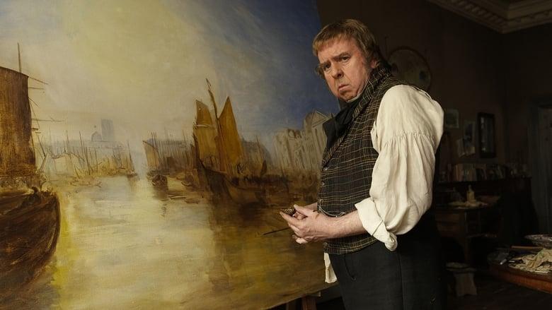 Mr. Turner pintando una de sus obras