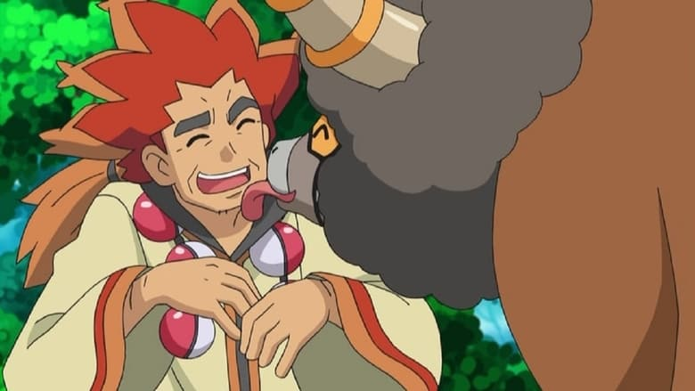 Ash Versus the Champion!