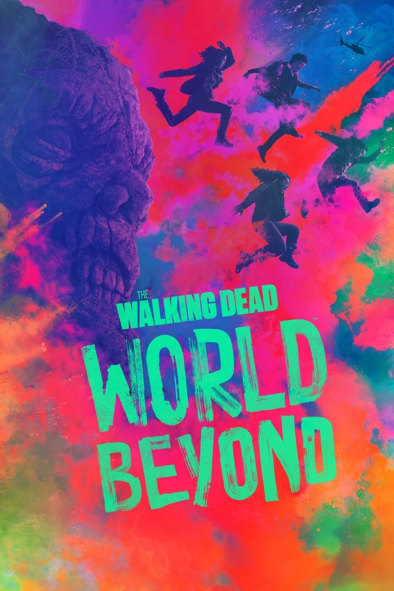 Poster for Serial The Walking Dead: World Beyond